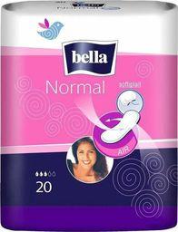 Bella Podpaski Bella Normal Krótkie 20szt Bez Skrzydełek