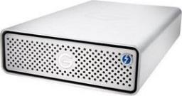 Dysk zewnętrzny G-Technology HDD G-DRIVE Thunderbolt 3 6 TB Srebrny (0G10488-1)