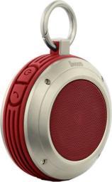 Głośnik Divoom Voombox Travel, Czerwony, Bluetooth (Divoom Travel Red)
