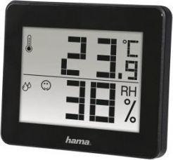 Stacja pogodowa Hama TERMOMETR/HIGROMETR TH-130 CZARNY