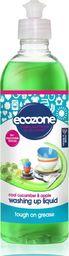 Ecozone ECOZONE, Płyn do mycia naczyń Ogórek i Jabłko, 500 ml