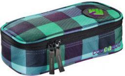 Piórnik Hama PencilDenzel Pen Case, Green Purple District  (001248080000)