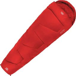 Highlander Śpiwór Sleepline 250 Mummy czerwony