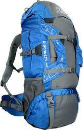 Highlander Plecak Turystyczny Discovery 45L Niebieski