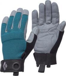 Black Diamond Rękawice wspinaczkowe Women's Crag Gloves niebieskie r. M (BD8018663028MD_1)