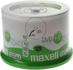Maxell DVD+R 4,7 GB, 50szt (275702.40)