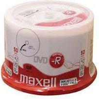 Maxell DVD-R 4,7 GB, 50 szt (275701.40)