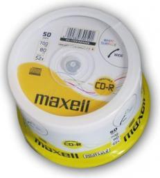 Maxell CD-R 700 MB 52x, 50 szt (624006.40)