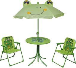 Elior zestaw mebli ogrodowych dla dzieci Lummo, zielony (4173)