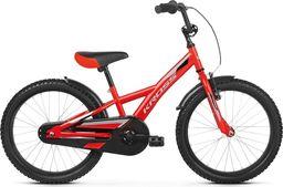 """Kross Rower Kross RACER 5.0 20"""" czerwony-srebrny-czarny połysk  Uniwersalny"""