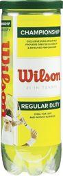 Wilson Piłki tenis Wilson CHAMPIONSHIP 3szt Uniwersalny