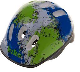Biko Kask Biko KID niebiesko-zielony HM-BI105-1 44-48 cm