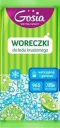 """Gosia Woreczki do lodu Gosia """"Wstrząśnij i gotowe""""- Lód kruszony 8szt."""