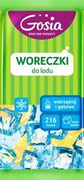 """Gosia Woreczki do lodu Gosia """"wstrząśnij i gotowe""""-Duże kostki 9szt."""