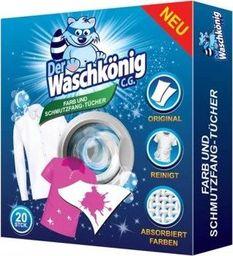 Der Waschkönig Chusteczki wyłapujące kolor Waschkönig 20szt.
