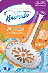 Kolorado Kostka toaletowa kolorado WC Fresh Tropikalny 40g
