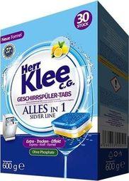 Herr Klee Tabletki do zmywarki Herr Klee C.G. Silver Line 30 sztuk
