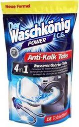 Der Waschkönig Tabletki odkamieniające do pralki 18 sztuk