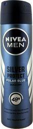 Nivea Nivea MEN Antyperspirant Silver protect polar blue 150ml uniwersalny