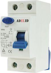 ADELID ADELID Wyłącznik różnicowoprądowy 2P 25A 30mA typ AC WR6