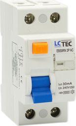 LC-Tec LC Wyłącznik różnicowoprądowy 2P 25A 30mA typ AC