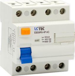 LC-Tec LC Wyłącznik różnicowoprądowy 4P 25A 30mA typ AC