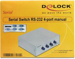 Delock Video Splitter RS-232  4 porty  (87589)