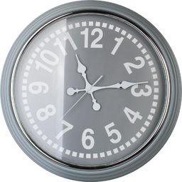 Mondex Zegar ścienny duży beżowy retro loft vintage uniwersalny