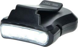 Mil-Tec Latarka na Czapkę 5 LED Czarna
