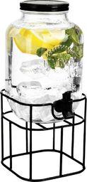 Eh Excellent Houseware Słój słoik z kranikiem do napojów lemoniady stojak
