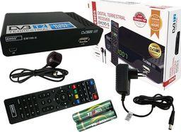 Tuner TV Emos Tuner dekoder cyfrowy TV naziemnej DVB-T/T2 HDMI