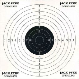 Jack Pyke Jack Pyke Tarcze Strzeleckie 14x14 cm 100 szt. uniwersalny