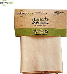 Sakwabag Woreczek na produkty sypkie, zero waste, 14x18cm