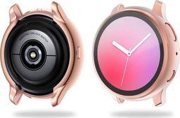 Alogy Etui na smartwatch Alogy case do Galaxy Watch Active 2 44mm Różowe uniwersalny
