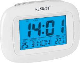 Kemot zegar, budzik, czas, data, dzień tygodnia, temperatura (URZ3219)