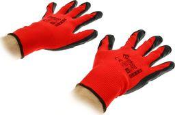 Geko Rękawice robocze rozm. 9 red Rękawiczki ochronne