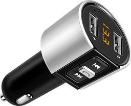 Zestaw głośnomówiący TeamVeovision Zestaw głośnomówiący Bluetooth, transmiter FM, ładowarka