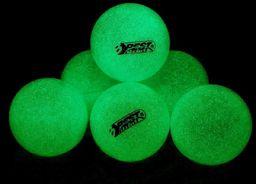 BEST Sporting Piłeczki do tenisa stołowego świecące 6 sztuki