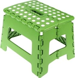 Ravi taboret składany antypoślizgowy mały zielony (10237)