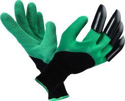 Teamveovision rękawice ogrodowe z pazurami, grabie, wodoodporne (10270)