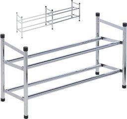 Storage Solutions Regał szafka organizer stojak na buty 2 poziomy uniwersalny