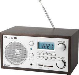 Radio Blow Radio AM/FM  z budzikiem i bluetooth USB microSD