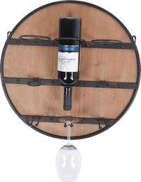 Home Styling Collection Uchwyt kuchenny barowy na wino i kieliszki