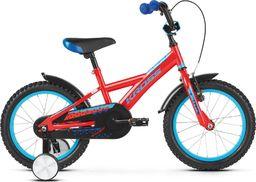 """Kross Rower Kross RACER 3.0 16"""" czerwony-niebieski połysk Uniwersalny"""