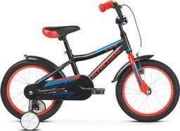 """Kross Rower Kross RACER 4.0 16"""" czarny-czerwony-niebieski połysk Uniwersalny"""