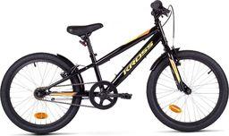 """Kross Rower Kross RACER 5.0 20"""" czarno-żółto-pomarańczowy połysk Uniwersalny"""