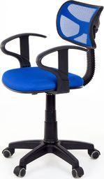 U-fell Fotel biurowy - model 8904 - niebieski