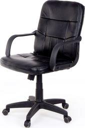 U-fell Fotel biurowy 6032 - czarny