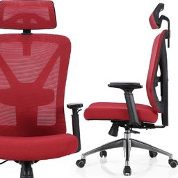 Nordhold Fotel biurowy ergo NORDHOLD - SKADI - czerwony