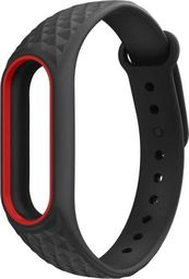 Tech-Protect TECH-PROTECT SMOOTH XIAOMI MI BAND 2 BLACK/RED